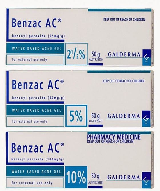 Benzac AC ยาทารักษาสิวอุดตัน