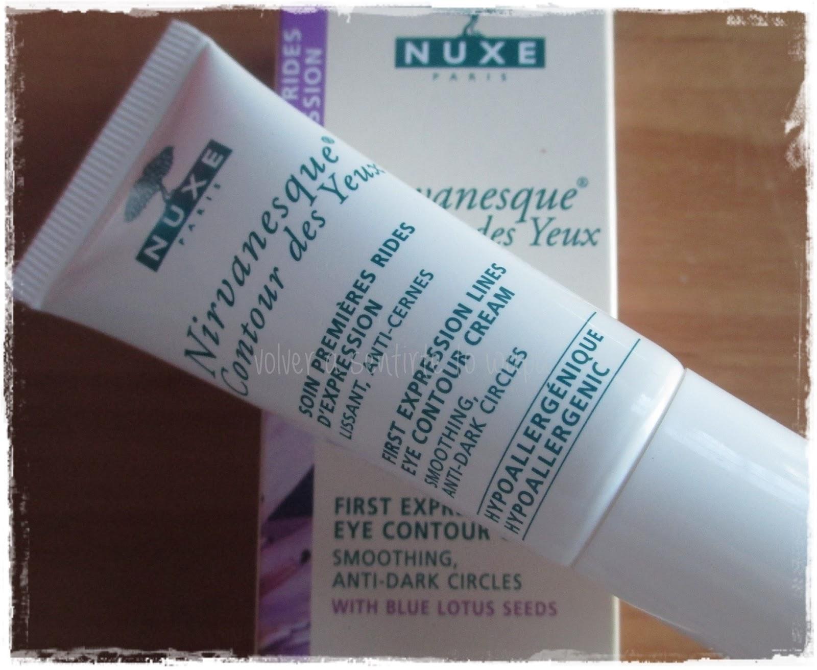 Nirvanesque Contour des Yeux - Contorno de ojos de Nuxe