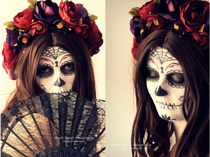 Dia De Los Muertos Makeup Sugar Skull