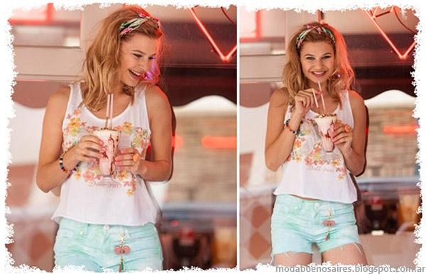 Shorts moda verano 2015 Doll Fins.