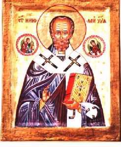 Saint Nicolas : Nicolas de Myre