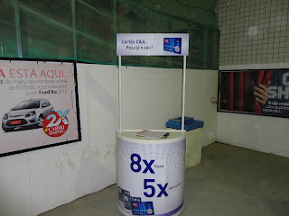 Mini-stand da C&A no Cariri Shopping.