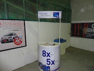 Mini-stand da C&A no Cariri Shopping.