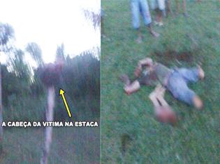 imagenes del arbitro decapitado y descuartizado en brasil