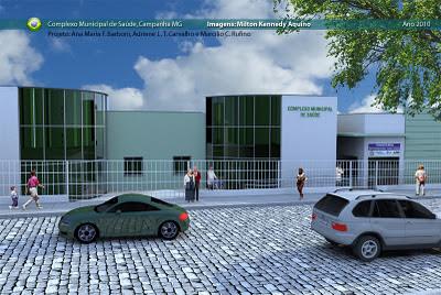 Projeto complexo municipal de saúde