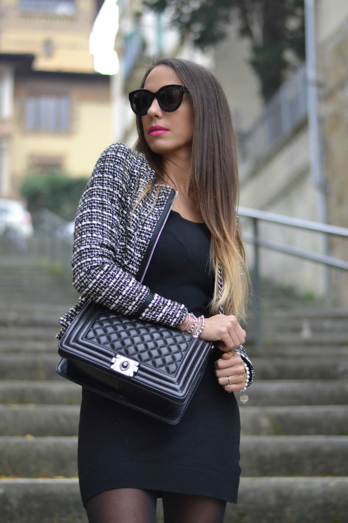 look in stile chanel