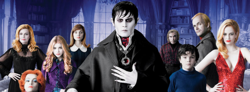 Dark shadows movie covers