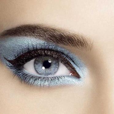 Robes de mariage robes de soir e et d coration maquillage de mari e pour yeux bleus - Yeux gris bleu ...