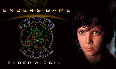 Asa Butterfield as Ender Wiggin in the Ender's Game Movie coming out November 1, 2013