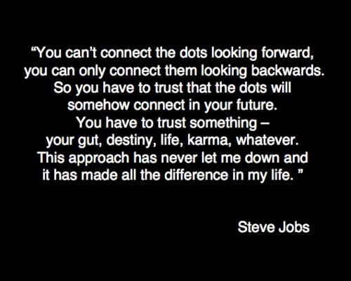 Follow your gut instinct