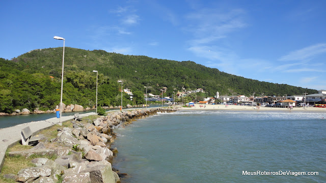 Molhe da Barra da Lagoa - Florianópolis