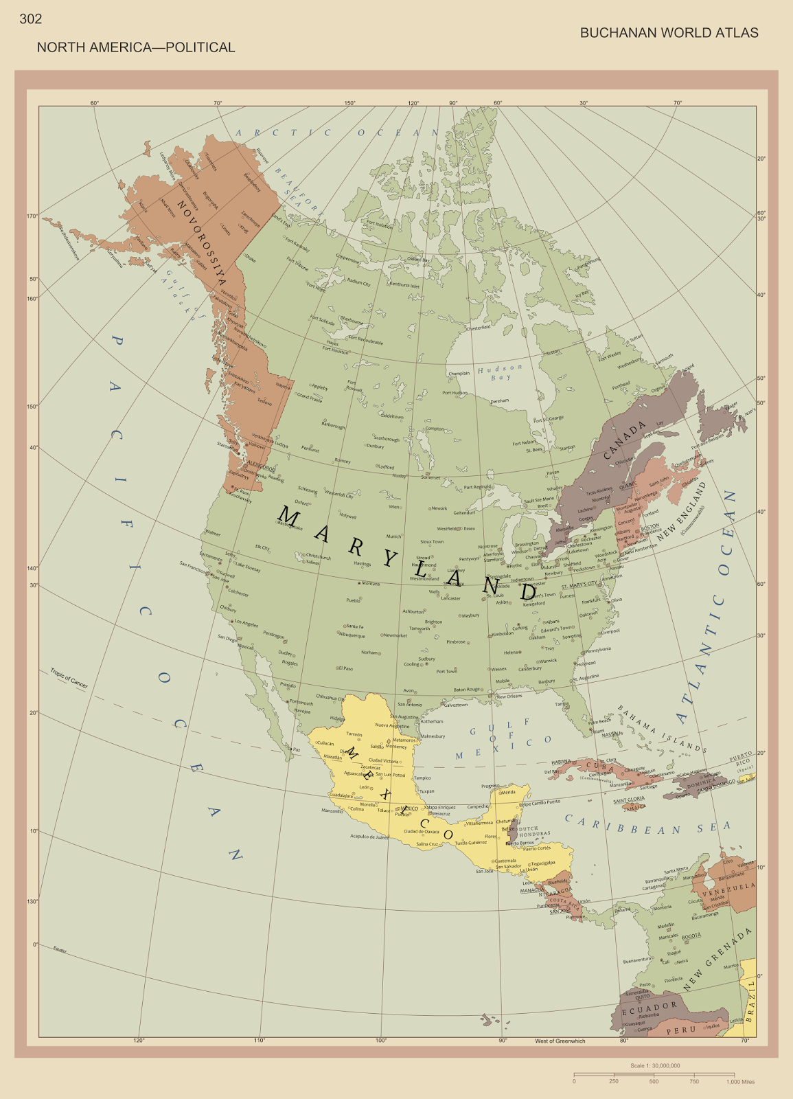 Alternate history weekly update map monday the world cromwell according to platoonsgt the map is inspired from martin23230s the commonwealth map in this world cromwell lives ten years longer and the commonwealth gumiabroncs Choice Image