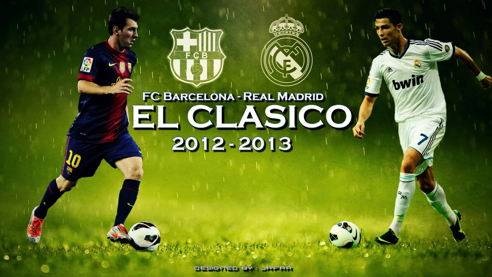 El Clasico Barcelona vs Real Madrid Wallpaper