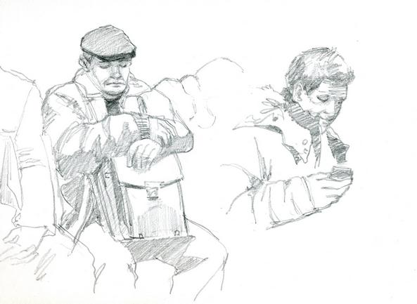 зарисовки в метро