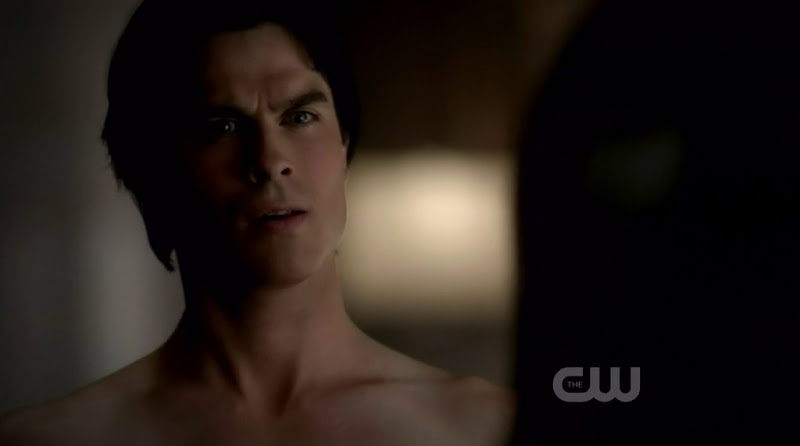 Ian Somerhalder Shirtless in The Vampire Diaries s3e15
