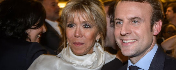 Brigitte, esposa de Emanuel Macron