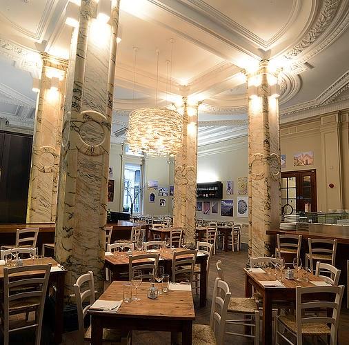 Bianco 43 restaurant Trafalgar Sq