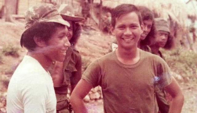Prabowo Subianto saat masih muda