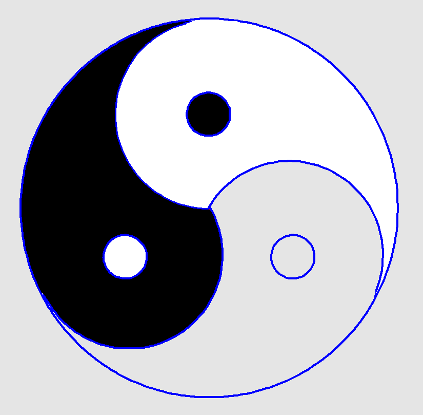 Yang with 3 parts yin symbol 150 Meaningful