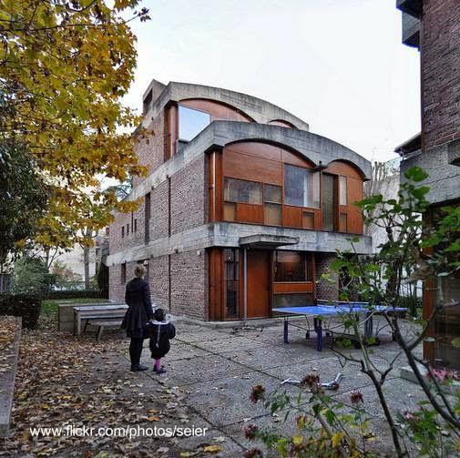 Residencias brutalistas en París diseñadas por Le Corbusier