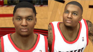 NBA 2K13 Damian Lillard Cyberface Patch PC