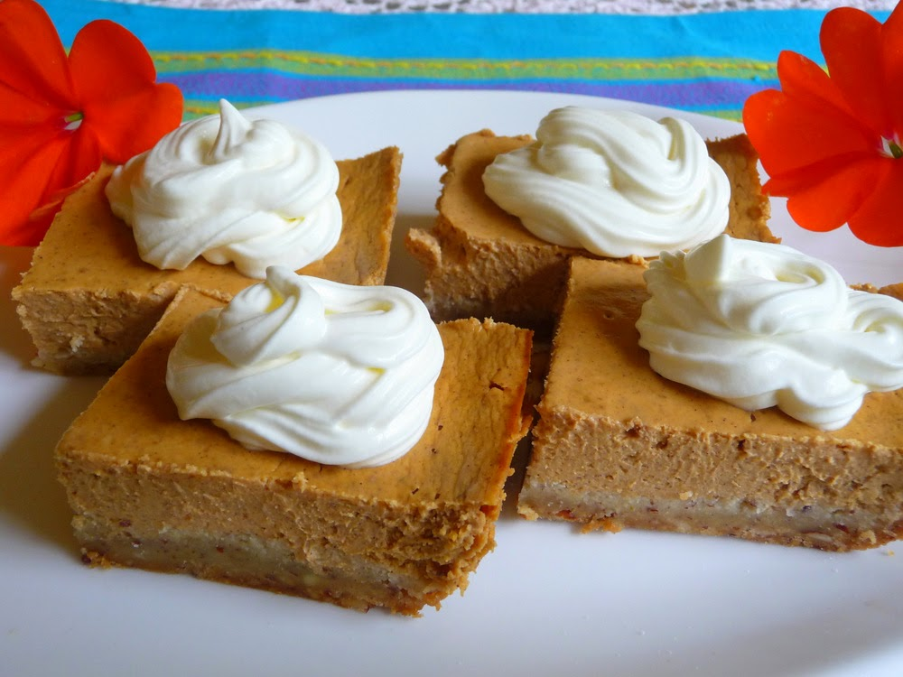 SPLENDID LOW-CARBING BY JENNIFER ELOFF: SOUR CREAM PUMPKIN ...