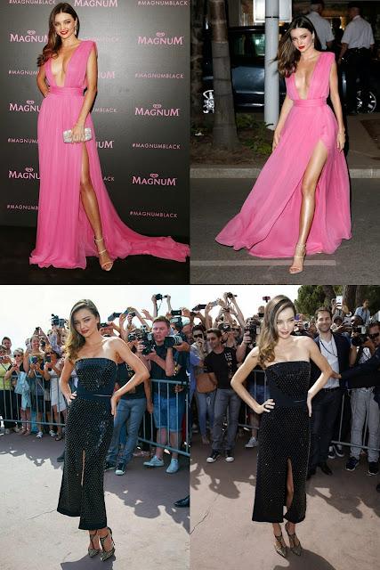 Cannes 2015: Miranda Kerr Stun in Hot Pink Dress