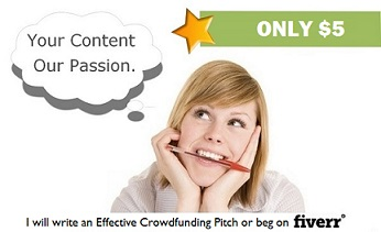 Crowdfunding and Cyberbegging Writing Services