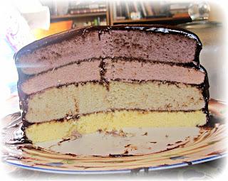 image purple ombre cake vanilla buttercake