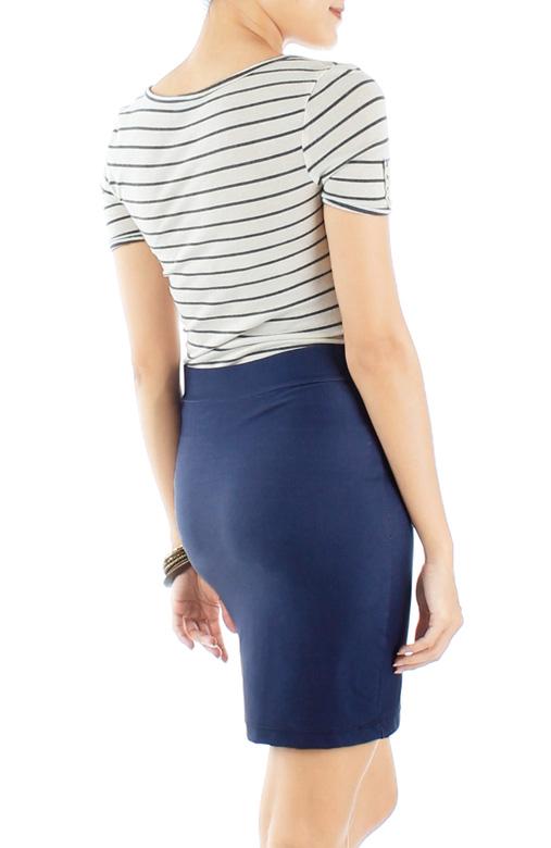 Dark Denim Mini Skirt