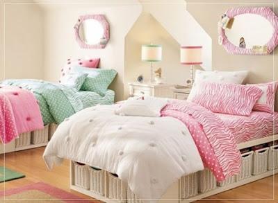 dormitorio juvenil para dos chicas