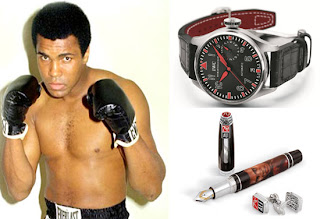 mike tyson met Muhammad Ali who wins?IWC launched Muhammad Ali Edition