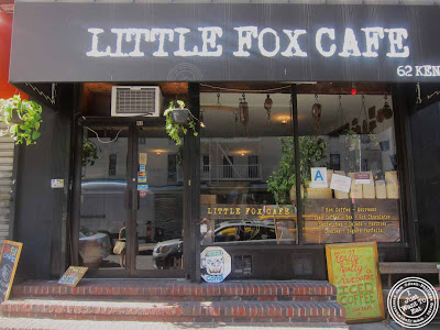 Image of Little Fox Cafe in Chinatown, NYC, New York