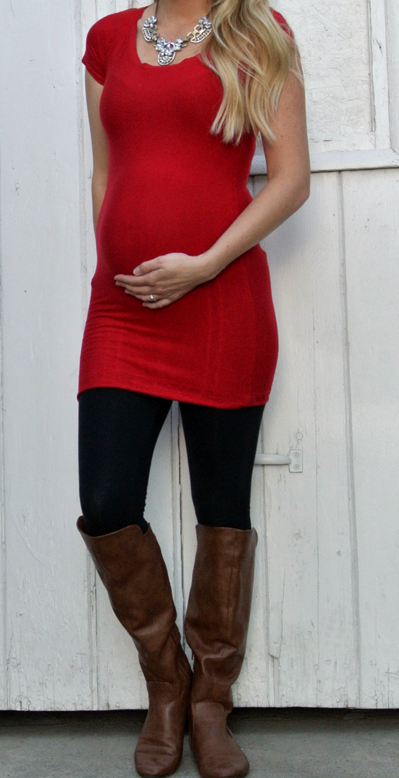 Cute maternity top