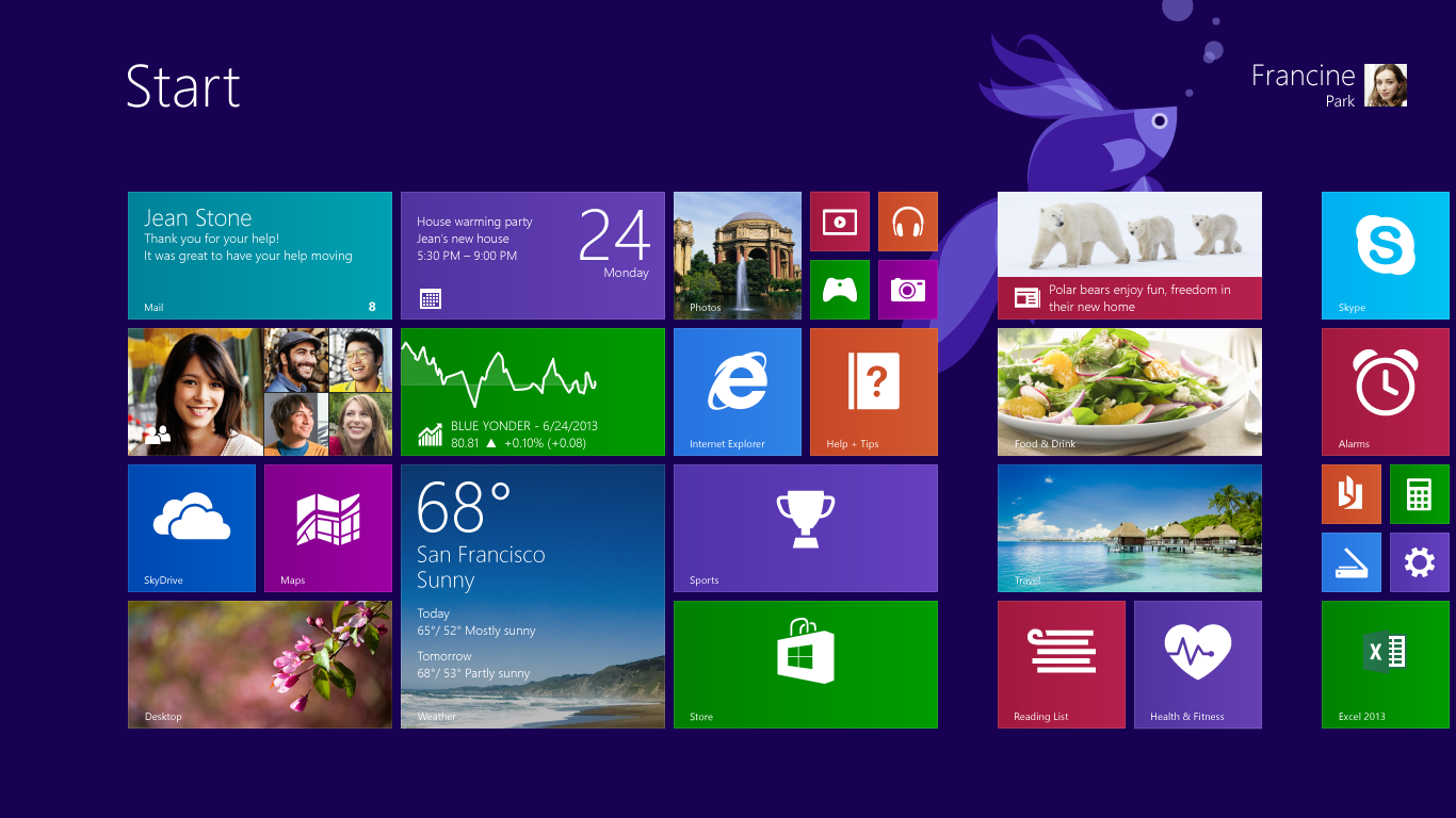 Direct Download Windows 81 x64/x86 32/64 bit preview for