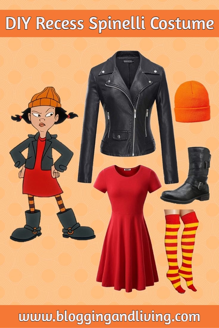 Easy DIY Spinelli Recess Costume