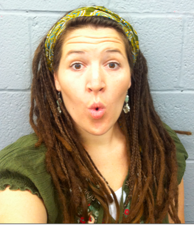 how to wear a scarf on beginning dreadlocks