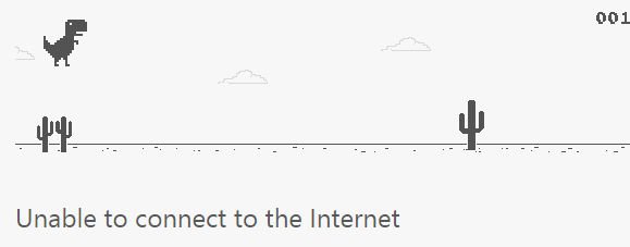 Bermain Game Tersembunyi pada Google Chrome