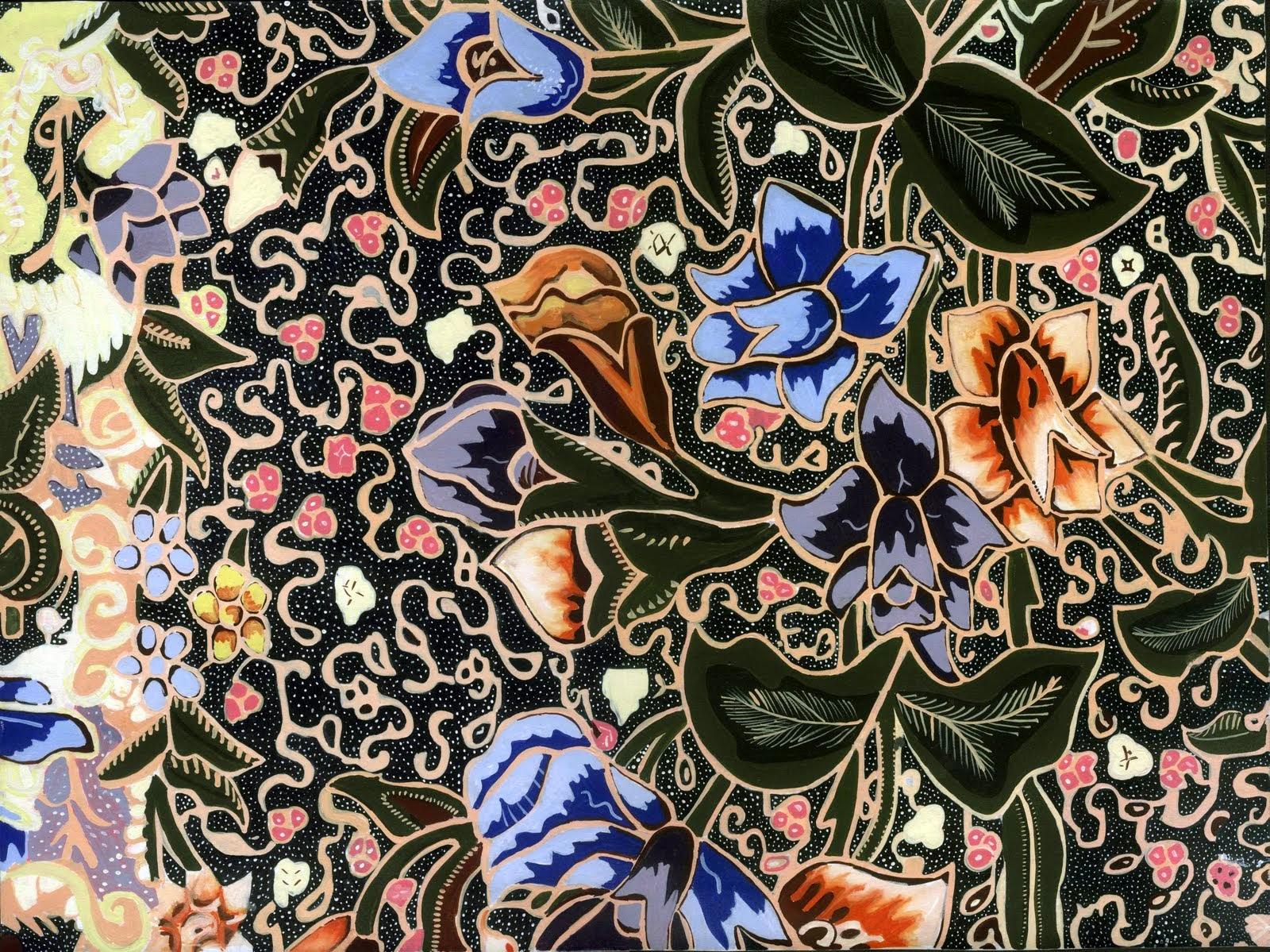 Ragam motif batik indonesia