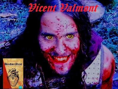 Jared Leto como o vampiro Vicent Valmont