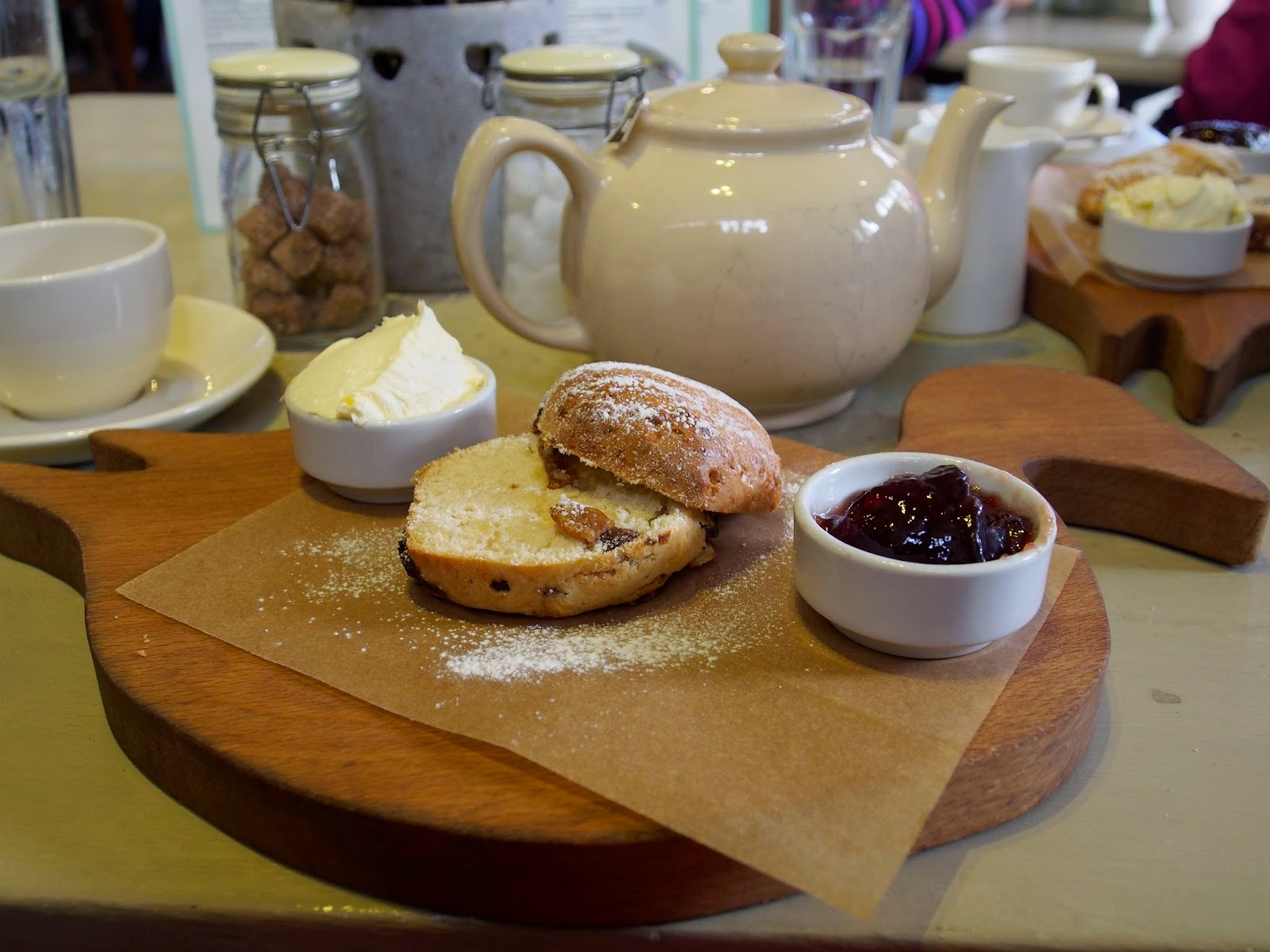 Dabbling Duck Tearoom, afternoon tea, travel, Surrey, Shere