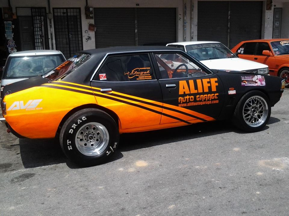 Here Is A Very Nice And Quick Galant Sigma Drag Racer From Malaysia Its Powered By