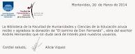 Mi novela en una Universidad de Montevideo