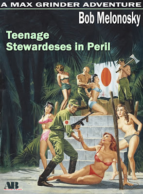 teenage stewardesses in peril written by bob melonosky