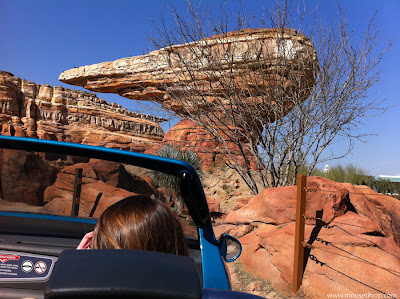 Radiator Springs Racers Willy's Butte Cars Land Carsland DCA
