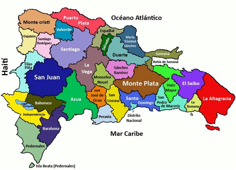 Mapa De La Repblica Dominicana  My blog