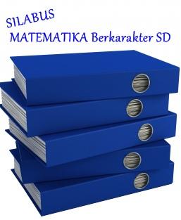 Download Silabus Matematika Berkarakter Sd The World Of Math