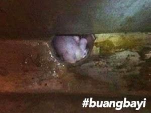 Thumbnail image for Bayi Dibuang Di Saluran Pembentungan Najis Berjaya Diselamatkan