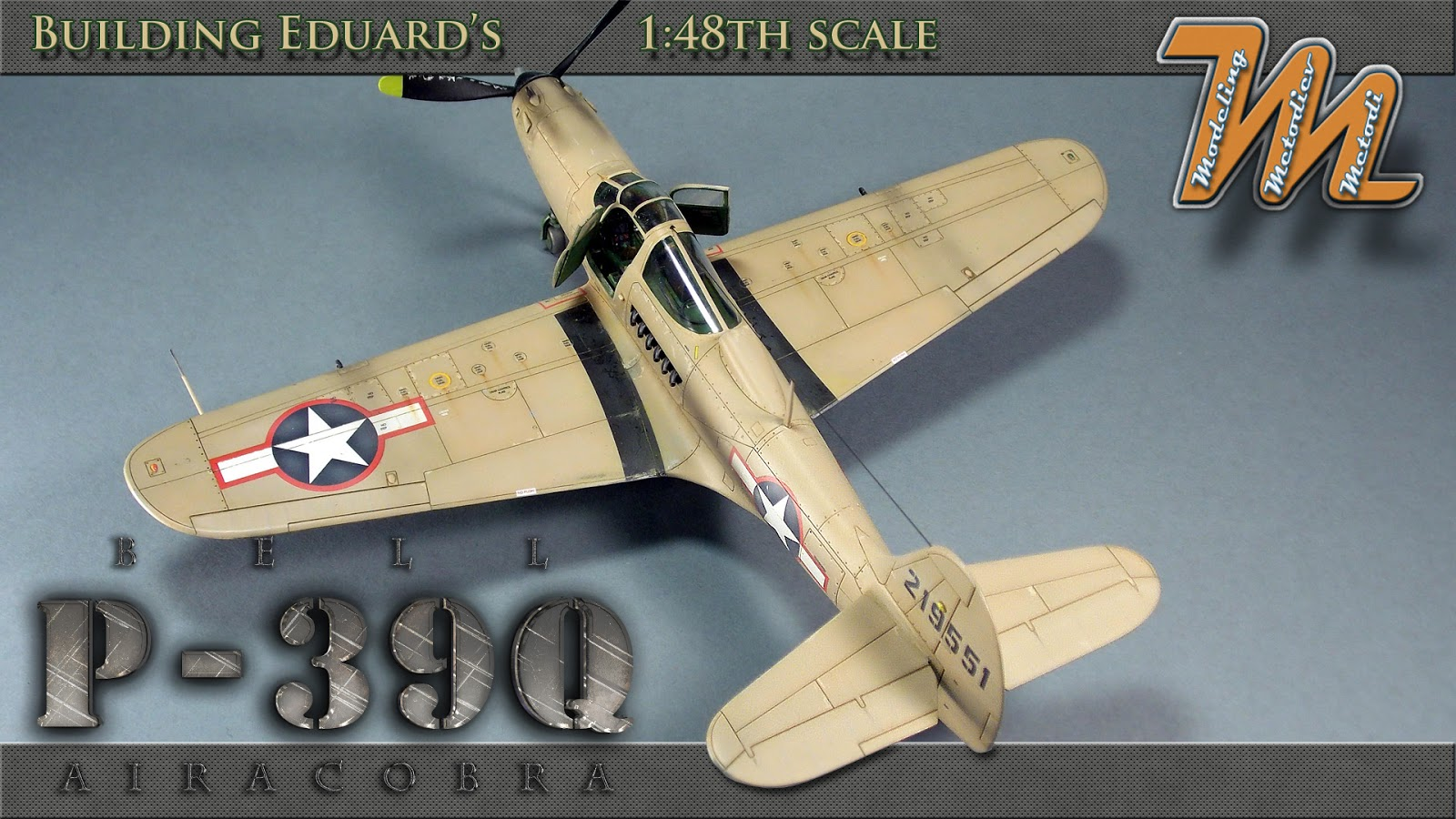 Bell P39 Q Airacobra, USAF, scale model