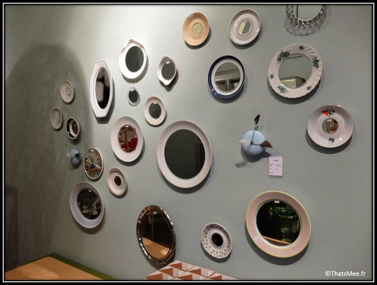 Frozen fountain deco concept-store design Amsterdam glass wall mur de miroirs